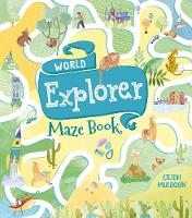 Cover for World Explorer Maze Book by Eilidh Muldoon