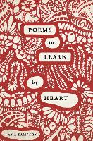 Cover for Poems to Learn by Heart by Ana Sampson