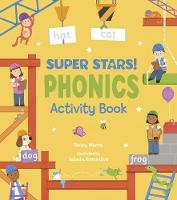 Cover for Super Stars! Phonics Activity Book by Penny Worms
