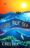 Cover for Girl. Boy. Sea. by Chris Vick