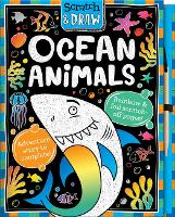 Cover for Scratch and Draw Ocean Animals by Susie Linn