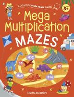 Cover for Fantastic Finger Trace Mazes: Mega Multiplication Mazes by Catherine Casey