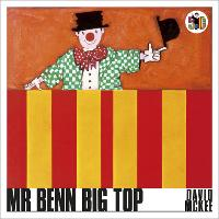 Cover for Mr Benn Big Top by David McKee