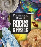Cover for The Amazing Book of Rocks and Fossils by Claudia Martin