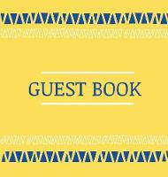 Cover for Guest Book for vacation home (hardcover) by Lulu and Bell