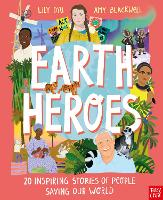 Cover for Earth Heroes by Lily Dyu