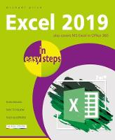 Cover for Excel 2019 in easy steps by Michael Price