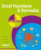 Cover for Excel Functions and Formulas in easy steps by Michael Price