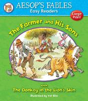 Cover for The Farmer and His Sons & The Donkey in the Lion's Skin by Val Biro