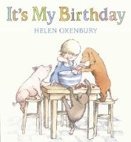 Cover for It's My Birthday by Helen Oxenbury