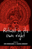 Cover for Ritual in Its Own Right  by Don Handelman