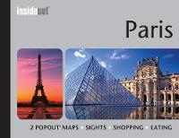 Cover for InsideOut: Paris Travel Guide  by Popout Maps