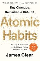 Cover for Atomic Habits  by James Clear