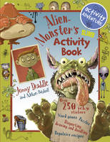 Cover for Alien Monster's Slimy Activity Book by Libby Hamilton