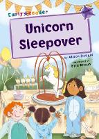 Cover for Unicorn Sleepover (Purple Early Reader) by Alison Donald
