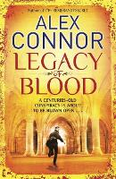 Cover for Legacy of Blood by Alex Connor