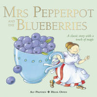 Cover for Mrs Pepperpot and the Blueberries by Alf Proysen