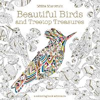 Cover for Millie Marotta's Beautiful Birds and Treetop Treasures  by Millie Marotta