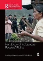 Cover for Handbook of Indigenous Peoples' Rights by Corinne Lennox