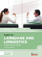 Cover for English for Language and Linguistics Course Book + CDs by Anthony Manning