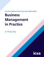 Cover for Business Management in Practice by Philip Kelly