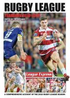 Cover for Rugby League Yearbook 2018 - 2019  by Tim Butcher, Daniel Spencer