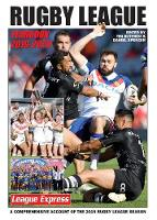 Cover for Rugby League Yearbook 2019 - 2020  by Tim Butcher, Daniel Spencer