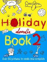 Cover for The Holiday Doodle Book 2 by Nikalas Catlow