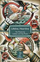 Cover for Lifeline, Heartline: Ten Poems by Lesbian and Gay Poets by Mandy Ross