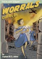 Cover for Worrals Carries On by W. E. Johns