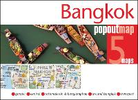 Cover for Bangkok PopOut Map by Popout Maps