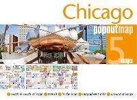 Cover for Chicago PopOut Map by PopOut Maps