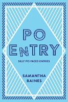 Cover for Poentry by Samantha Baines