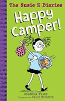 Cover for Happy Camper! The Susie K Diaries by Shamini Flint