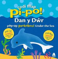 Cover for Codi Fflap Pi-Po! dan y Dwr / Pop-Up Peekaboo! Under the Sea by Manon Steffan Ros