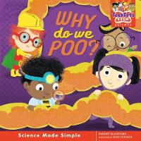 Cover for Why do we poo? by Harriet Blackford