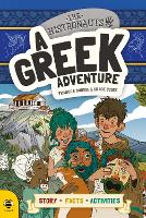 Cover for A Greek Adventure by Frances Durkin