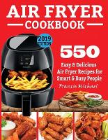 Cover for Air Fryer Cookbook  by Francis Michael