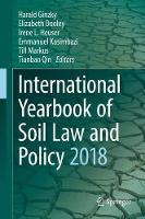 Cover for International Yearbook of Soil Law and Policy 2018 by Harald Ginzky