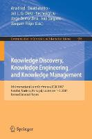 Cover for Knowledge Discovery, Knowledge Engineering and Knowledge Management  by Ana Fred