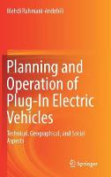 Cover for Planning and Operation of Plug-In Electric Vehicles  by Mehdi Rahmani-Andebili