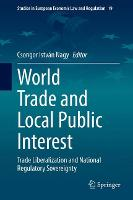 Cover for World Trade and Local Public Interest  by Csongor Istvan Nagy