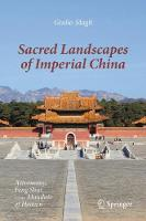Cover for Sacred Landscapes of Imperial China  by Giulio Magli