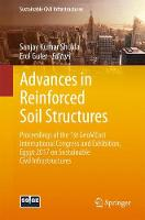 Cover for Advances in Reinforced Soil Structures  by Sanjay Kumar Shukla