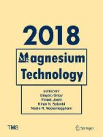 Cover for Magnesium Technology 2018 by Dmytro Orlov