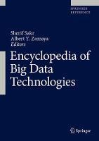 Cover for Encyclopedia of Big Data Technologies by Sherif Sakr