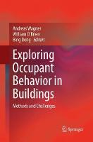 Cover for Exploring Occupant Behavior in Buildings  by Andreas Wagner