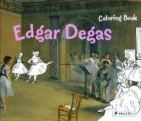 Cover for Edgar Degas Coloring Book by Annette Roeder
