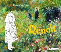 Cover for Coloring Book Renoir by Annette Roeder