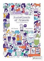 Cover for Bucketloads of Friends A Look and Find Book by Mia Cassany